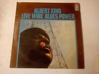 Albert King – Live Wire / Blues Power - Vinyl LP 1968 UK Copy