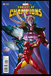 CONTEST OF CHAMPIONS #1 LEINIL FRANCIS YU 1:25 VARIANT COVER 1ST WHITE FOX