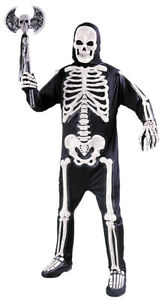 Totally Skele-bones Standard Adult Costumes Halloween 100% Polyester Funworld