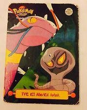 carte pokémon - Reg Pokémon Topps Trading Card  Panini Tv12#23 Abo/# Arbok US