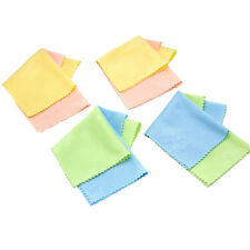 10 x Microfiber Cleaner Cleaning Cloth For Phone Screen Camera Lens Eye Glasses