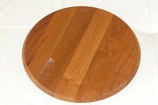 """Mid Century Dansk International Designs LTD Round Wooden Tray - 11 1/4"""""""