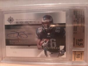 Reggie Brown #/5 Ultimate Collection Rookie Signatures BGS 9.5 Auto 10 RARE RC