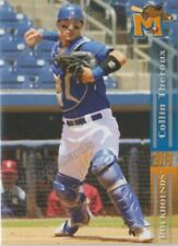 2019 Midland RockHounds Collin Theroux RC Rookie Oakland Athletics
