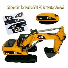 Sticker DIY Decor for Huina 550 15 Channel Top Race RC Car Excavator Amewi Decal