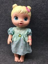 """2015 Baby Alive Drink And Wet Doll Blonde 13"""" Hasbro"""