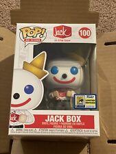 """Funko POP SDCC 2020 Exclusive Jack in The Box """"Comic-Con"""" Exclusive crease box"""