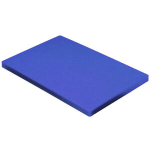 """Blue Plastic (HDPE) Cutting Board 1/2"""" - .500"""" Thick FDA/NSF You Pick The Size"""