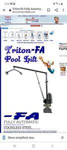 triton pool/ handicap lift