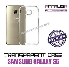 COVER TRASPARENTE PER SAMSUNG GALAXY S6 G920F CUSTODIA GEL TPU SLIM CASE
