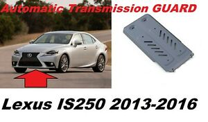 For Lexus IS250 III Gen Aluminum Automatic Transmission Guard Shield 2013-2016MY
