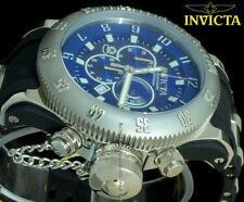 New Invicta 10134 Russian Diver Swiss Ronda Quartz Movt Chronograph Sports Watch