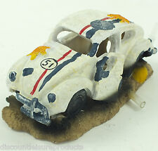 Aquarium VW Beetle Herbie Type Bubble Ornament Fish Tank Decoration #2833A1