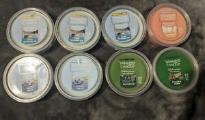 Lot Of 8 Yankee Candle Scenterpiece Easy Melt Cup - Beach Walk, Mistletoe & More