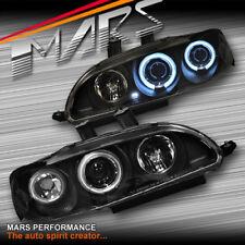 Black CCFL Angel-Eyes Projector Head Lights for Honda CIVIC 92-95 EG Coupe Hatch