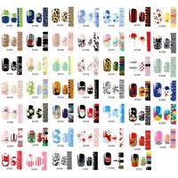 Nail Wraps Stickers - Full Self Adhesive Polish Foils Decoration Art Dec PL TS