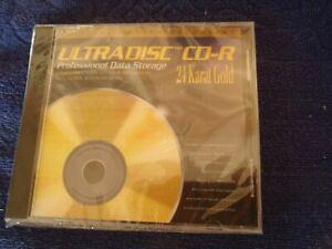 Mobile Fidelity Ultradisc CD-R 24 KT Blank Gold Disc
