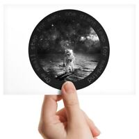 """Photograph 6x4"""" BW - One Small Step Astronaut Space Mission  #40630"""