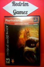 Twisted Metal Black PS2 Video Games