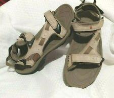 Men's TEVA Outdoor Sport Sandals - Sz 9 Gray/ Brown