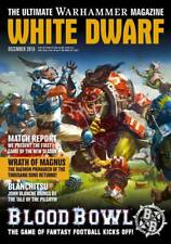 WHITE DWARF DICEMBRE 2016-WARHAMMER 40K-GAMES WORKSHOP-MAGAZINE