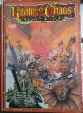 REALM OF CHAOS - Slaves to Darkness - Vintage Games Workshop - Hardback