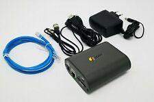Eneo GLS-2302H  Video/Audio Server, 1 Kanal, H.264, MPEG-4, MJPEG, 12 VDC, PoE