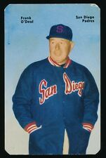 """1952 Mother's Cookies (PCL) -#25 """"LEFTY"""" O'DOUL (San Diego Padres) -Future HOFer"""
