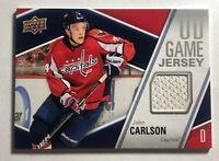 JOHN CARLSON - 2011-12 UPPER DECK SERIES ONE UD GAME JERSEY #GJ-JO