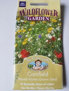Mr Fothergills Wildflowers Sunny Cornfield Collection Seed