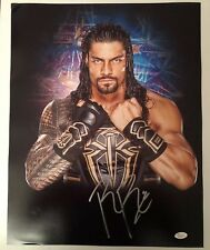 Roman Reigns Signed Autographed 16x20  Photo WWE The Guy JSA Sticker Only 14