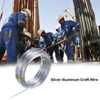 10m/20m SOFT Aluminium Wire Armature Craft Jewellery Craft DIY Model Sculpting