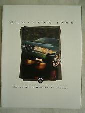 Cadillac range brochure 1995