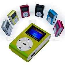 REPRODUCTOR LECTOR MP3 PLAYER RADIO FM COLORES MINI USB MICRO SD 8GB CASCOS