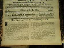 1898   Strassburg Hauseinsturz