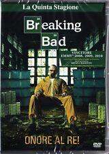BREAKING BAD - STAGIONE 5 - COFANETTO 3 DVD NUOVO!