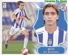 BETO PORTUGAL RC.RECREATIVO STICKER LIGA ESTE 2009 PANINI