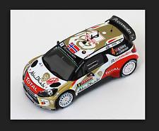 Citroen DS3 WRC Rally Montecatlo 2014Ostberg-Andersson 1/43 RAM566 Ixo Models