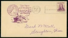 US NAVAL COVER 1933 SS Washington wwh31101