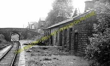 Whitworth Railway Station Photo. Broadley - Facit. Rochdale to Bacup Line. (1)