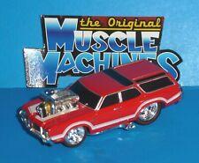 2007 ORIGINAL MUSCLE MACHINES '70 Oldsmobile Vista Cruiser 442 Real Riders 1970
