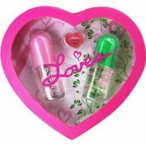 Dana Love 2 Piece Body Mist and Lip Gloss NEW in gift box.