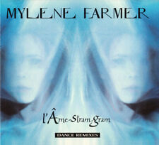 CD MAXI DIGIPACK MYLENE FARMER L' AME-STRAM-GRAM DANCE REMIXES COMME NEUF 1999