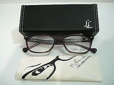 Lisa Loeb Eyewear Loved You 144 Berry Eyeglasses Rx-Able Frame