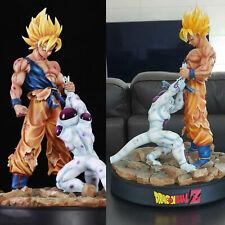 Dragon Ball 1/6 son Goku Frieza Modelo De Resina Estatua Estatuilla 16''H En Stock
