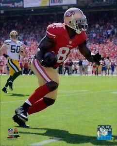 Anquan Boldin San Francisco 49ers NFL Licensed Unsigned Matte 8x10 Photo D