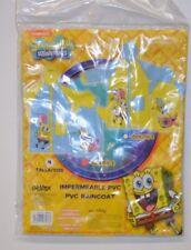 IMPERMEABLE HABIT DE PLUIE DE PLUIE EN PVC BOB L EPONGE T 4 ANS PARAPLUIE