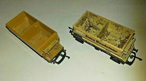 LIMA OO GAUGE L305636 and L305637 ARC etc. 50T PGA aggregate hopper wagons lot B