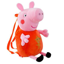Peppa Pig Fashionable Cute Plush Children Backpack - Super soft Fabric