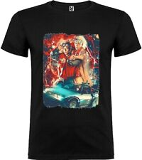 Mens t-shirt MEDIUM Back to the Future 80s Movie My Art Marty McFly Unisex Woman
